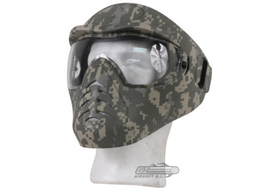 (Discontinued)Bravo / APS Anti-Fog Full Face Mask (ACU)