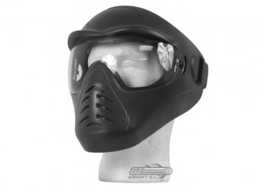 (Discontinued)Bravo / APS Anti-Fog Full Face Mask (Black)
