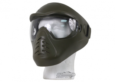 (Discontinued)Bravo / APS Anti-Fog Full Face Mask (OD)
