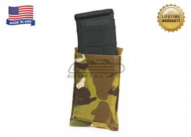 Blue Force Gear Ten-Speed Single M4 Pouch with Helium Whisper Attachement System ( Multicam )