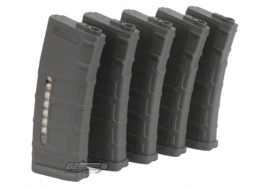 Beta Project Magpul PTS 75rd M4 / M16 Mid Capacity AEG Magazine ( 5 Pack / P-Mag / FG )