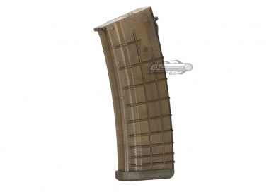Beta Project Magpul AK Series 140rd Mid Capacity AEG Magazine ( Waffle / OD )
