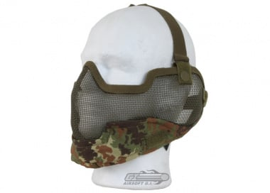 Bravo V2 Strike Metal Mesh Lower Face Mask ( Flektarn )
