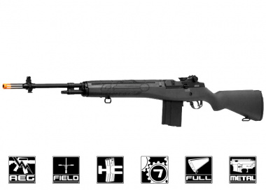 Classic Army Full Metal M14 Match AEG Airsoft Gun ( Black / SV Series )