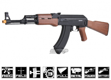 CA Full Metal / Fake Wood SA M-7 AEG Airsoft Gun ( Sportline / Value Package )