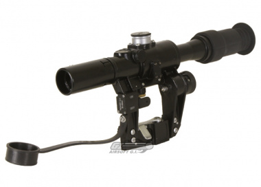 CA 4x24 Scope for SVD