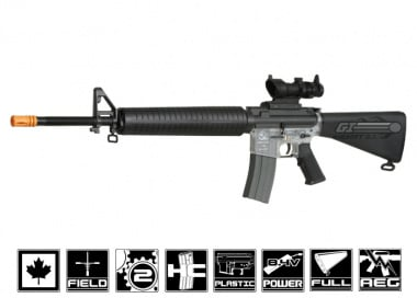 CA M15A4 Rifle Canadian Legal AEG Airsoft ( Clear / Sportline / Value Package )