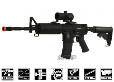 Full Metal Colt M4A1 Carbine Airsoft Gun Licensed by CYMA