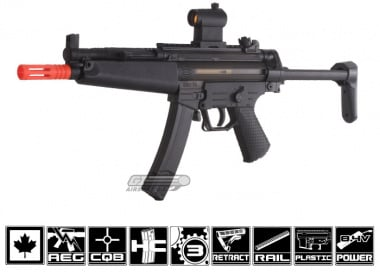 ICS GSG 552 Canadian Legal AEG Airsoft ( Smoke Clear )