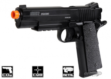 Sig Arms Metal Slide Sig Sauer GSR CO2 Powered Pistol Airsoft Gun