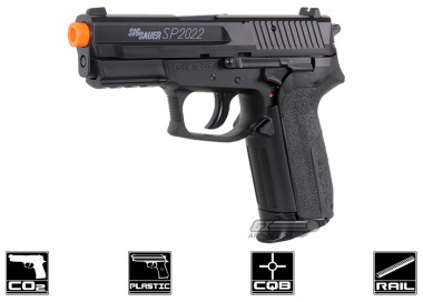 KWC Full Metal SP2022 Non-Blowback CO2 Pistol Airsoft Gun ( Licensed by Cybergun )