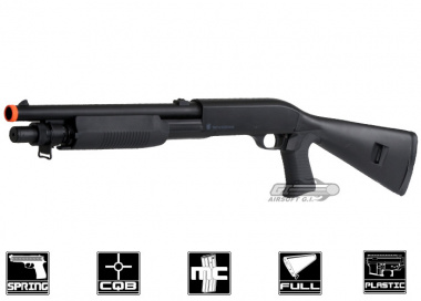 (Discontinued) Smith & Wesson M58A Multi-shot Spring Shotgun Airsoft Gun ( Fixed Stock )