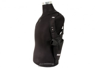 Swiss Arms Vertical Shoulder Holster ( Black )