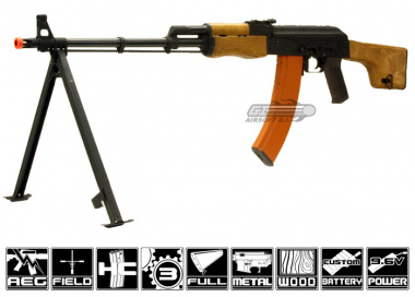 CM052 Full Metal / Real Wood RPK AEG Airsoft Gun