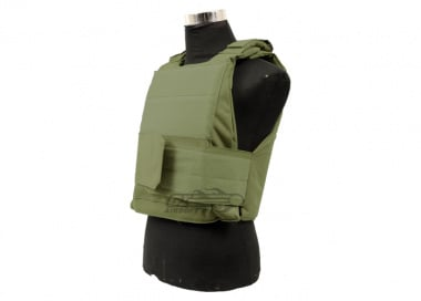 Defcon 600 Denier Body Armor Shell ( OD )