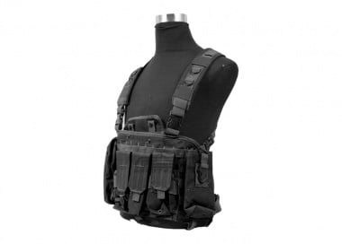 Defcon 600 Denier Commando Chest Rig ( Black )
