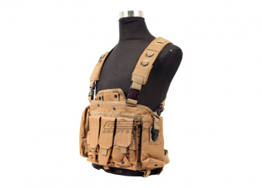 Defcon 600 Denier Commando Chest Rig ( FDE )