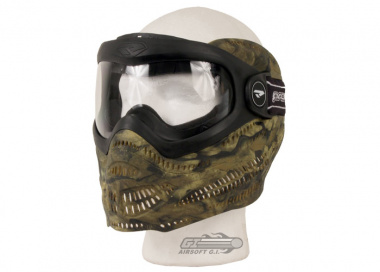 Dye Tactical Proto Switch EL Anti-Fog Full Face Mask ( Woodland )
