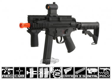 Echo 1 Full Metal Small SOB Swordfish MK5K AEG Airsoft Gun