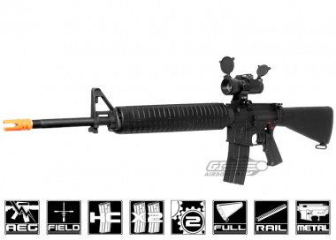 Echo 1 Full Metal Platinum Series M16 AEG Airsoft Gun