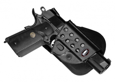 Fobus 1911 Style With Rails Paddle Holster ( R1911 )