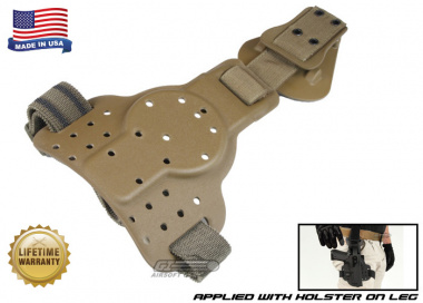 G-Code REAC Tactical Drop Leg Panel ( Non-RTI / Ambidextrous ) Coyote