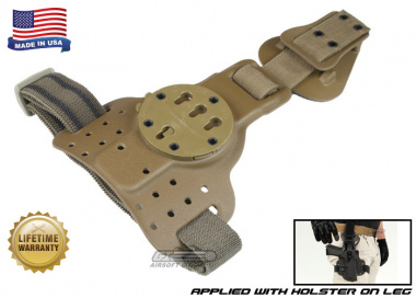 G-Code REAC Tactical Drog Leg Panel ( RTI / Ambidextrous ) Coyote