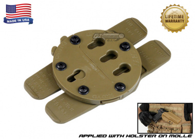 G-Code H Type MOLLE Adaptor ( RTI / Ambidextrous ) Coyote