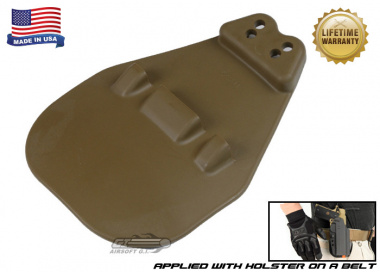 G-Code Multi-Positional Large Paddle .75 Pattern ( Non-RTI / Ambidextrous ) Coyote
