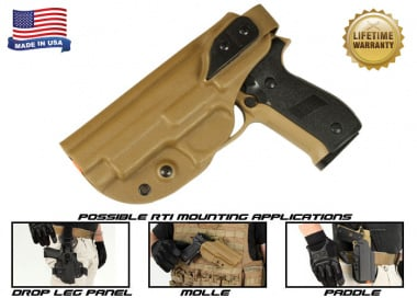 G-Code XST RTI Holster for Sig 226 & 229 ( Left Hand / HOLSTER ONLY ) Coyote
