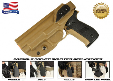 G-Code XST Standard Holster for Sig 226 & 229 ( Non-RTI / Left Hand / HOLSTER ONLY ) Coyote