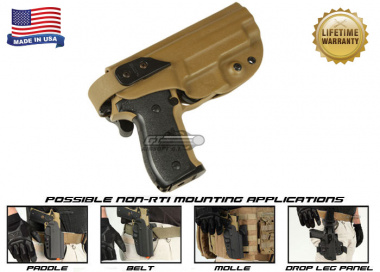 G-Code XST Standard Holster for Sig 226 & 229 ( Non-RTI / Right Hand / HOLSTER ONLY ) Coyote