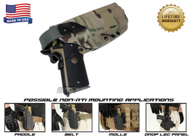 G-Code XST Standard Holster for 1911 w/ Rail ( Non-RTI / Right Hand / HOLSTER ONLY ) Multicam
