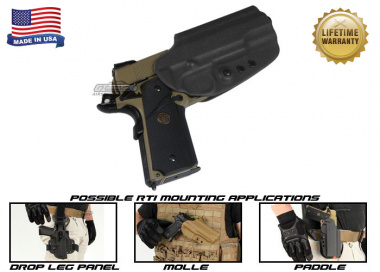 G-Code OSH RTI Holster for 1911 ( Right Hand / HOLSTER ONLY ) Black