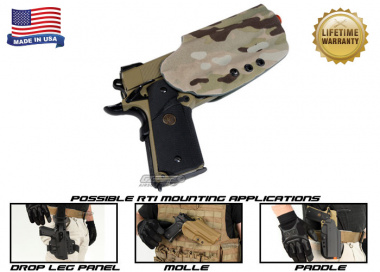 G-Code OSH RTI Holster for 1911 ( Right Hand / HOLSTER ONLY ) Multicam