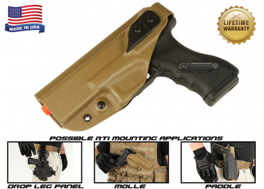 G-Code XST RTI Holster for KWA ATP ( Left Hand / HOLSTER ONLY ) Coyote