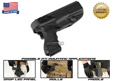 G-Code XST RTI Holster for KWA ATP ( Right Hand / HOLSTER ONLY ) Black
