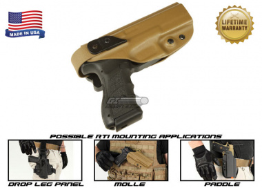G-Code XST RTI Holster for KWA ATP ( Right Hand / HOLSTER ONLY ) Coyote