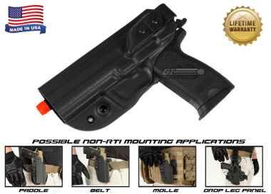 G-Code XST Standard Holster for USP ( Non-RTI / Left Hand / HOLSTER ONLY ) Black
