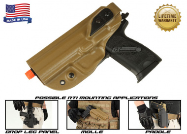 G-Code XST RTI Holster for USP ( Left Hand / HOLSTER ONLY ) Coyote