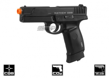 Game Face Full Metal Mayhem CO2 Blowback Pistol Airsoft Gun