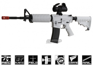 Combat Machine M4-A1 Chione16 Blow Back AEG Airsoft Gun ( Winter Snow )