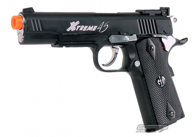 G&G Full Metal Xtreme 45 CO2 Blowback Pistol Airsoft Gun ( BLK )