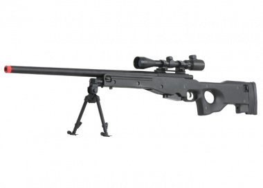G&G Full Metal G960 Gas Powered Bolt Action Sniper Rifle Airsoft Gun ( BLK )