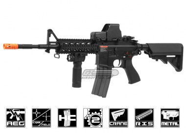 G&G Full Metal GC16 M4 Raider Long HV AEG Airsoft Gun