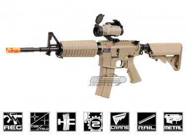 G&G Full Metal GC16 M4 Carbine DST HV AEG Airsoft Gun ( Crane Stock )