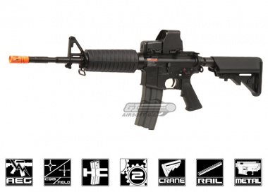 G&G Full Metal GC16 M4 Carbine HV AEG Airsoft Gun ( Crane Stock )
