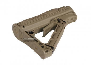 G&G GOS-V1 Retractable Stock for G26 & M4 Series ( Tan )