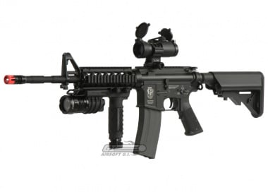 (Discontinued) G&G Full Metal GR-16 R4 Commando Airsoft Gun ( M4-RIS SEAL )
