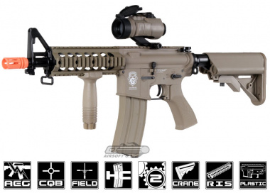 G&G GR15 Raider CQB Electric Blow Back AEG Airsoft Gun ( TAN )